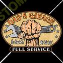 Sweat zippé biker dad garage