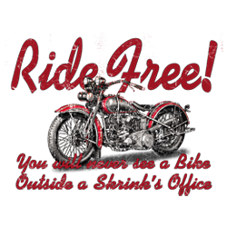 Sweat zippé biker ride free
