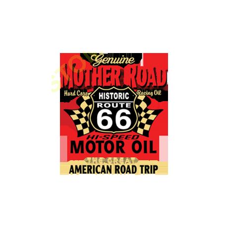 Sweat zippé biker genuine mother road