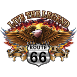 Sweat zippé biker live the legend eagle
