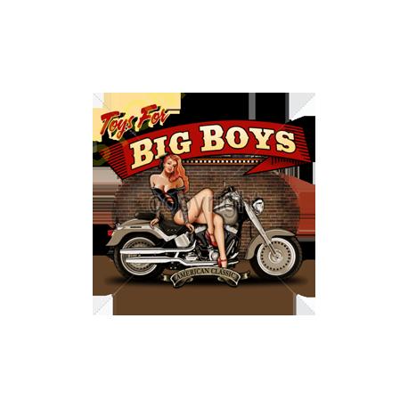 Sweat zippé biker big boys