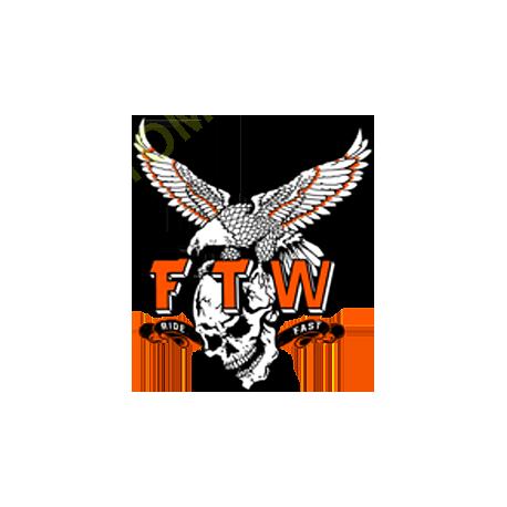 Sweat zippé biker FTW