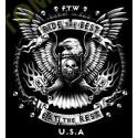 Sweat zippé biker ride the best