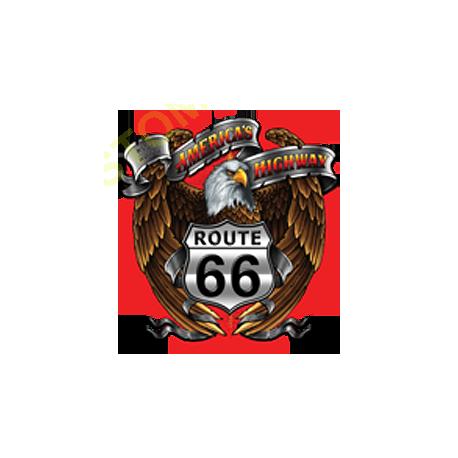 Sweat zippé biker america's eagle road 66