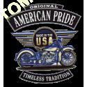 Sweat zippé biker timeless tradition