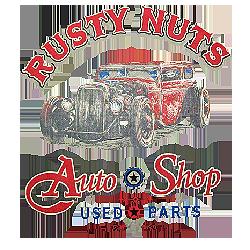 Sweat zippé biker rusty nuts