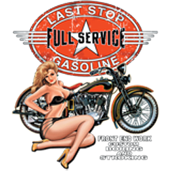 Sweat zippé biker full service
