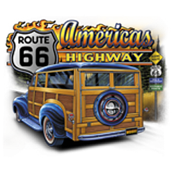 Sweat zippé biker america's road 66