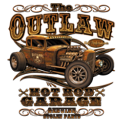 Sweat zippé biker outlaw