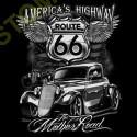Sweat zippé biker america's highway