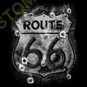 Sweat zippé biker old road 66
