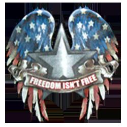 Sweat zippé biker biker freedom