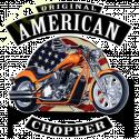 Sweat zippé biker american choppers