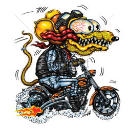 Sweat capuche biker yellow monster orange cycle.