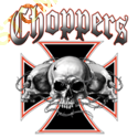 Sweat capuche biker skull choppers