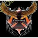 Sweat capuche biker eagle choppers