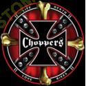 Sweat capuche biker choppers and bones