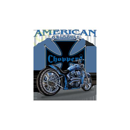 Sweat capuche biker american original