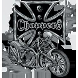 Sweat capuche biker bike and skull