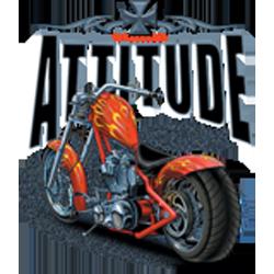 Sweat capuche biker choppers attitude
