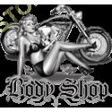 Sweat capuche biker body shop