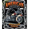 Sweat capuche biker americas finest