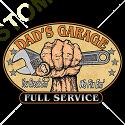 Sweat capuche biker dad garage