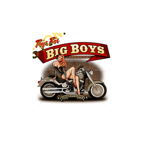 Sweat capuche biker big boys