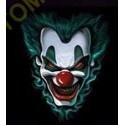 Sweat capuche biker clown killer