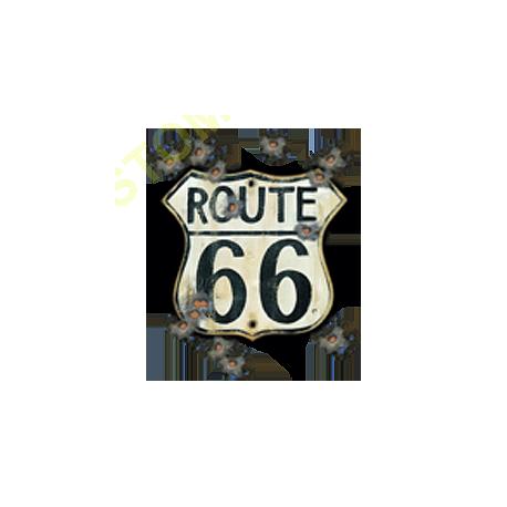 Sweat capuche biker old road 66
