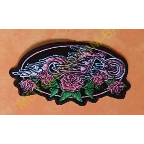 Patch, écusson lady rider chopper