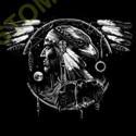 Sweat capuche biker eagle spirit