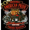 Sweat capuche biker original enthusiast