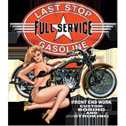Sweat capuche biker full service