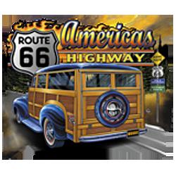 Sweat capuche biker america's road 66