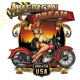 Sweat capuche biker american dream babe