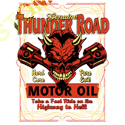 Sweat capuche biker road devil