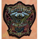 Patch, écusson american steel