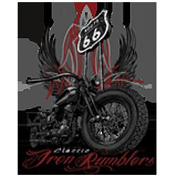 Sweat capuche biker iron rumbler's