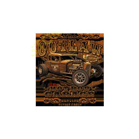 Sweat capuche biker outlaw