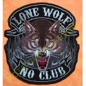 Patch, écusson lone wolf