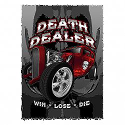 Sweat capuche biker death dealer