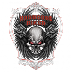 Sweat capuche biker hardcore