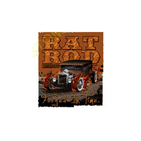 Sweat capuche biker rat rod
