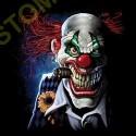 Sweat capuche biker the joker