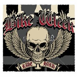 Sweat capuche biker bike week