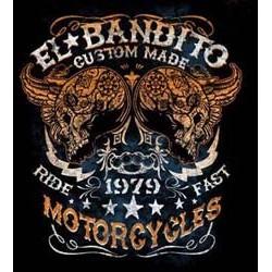 Sweat capuche biker el bandito