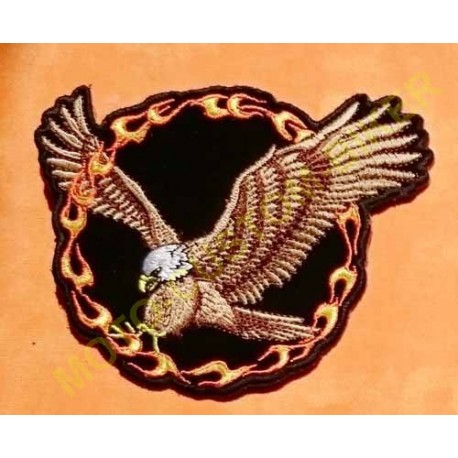 Patch, écusson aigle de feu