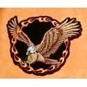 Patch, écusson aigle anneau de feu