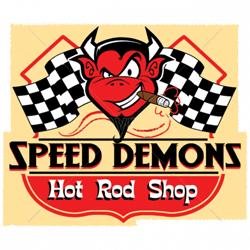 Sweat capuche avec zip speed demon